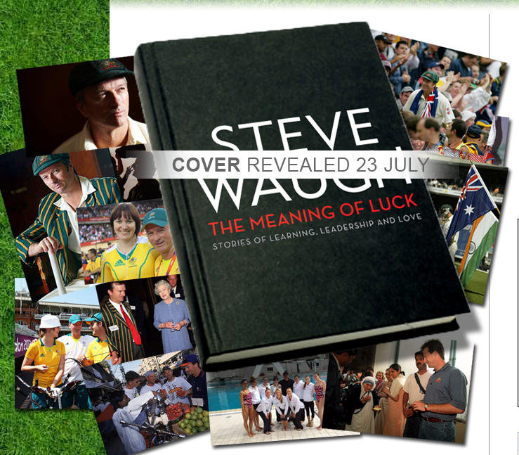 Photo from Steve Waugh new book