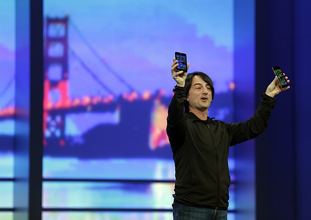 Liquid State - Unveiling of Windows Phone 8.1 at the Microsoft Developer Conference.