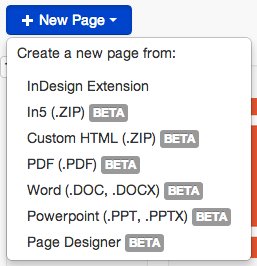 List of page file types