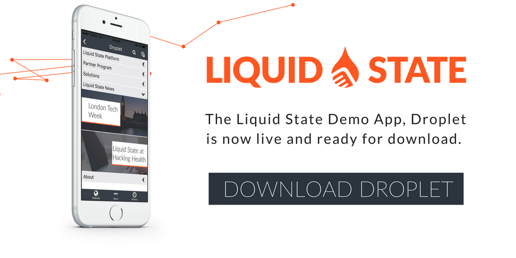 Liquid State Droplet demo app