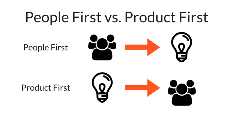 People-First vs. Product First