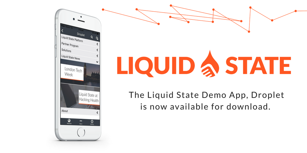 liquid state demo app droplet