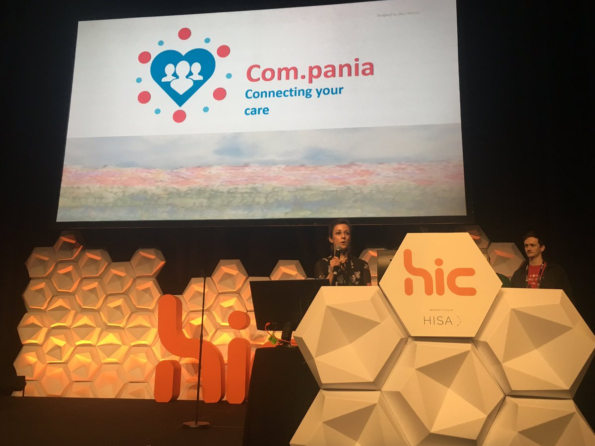 Hacking Health top 5 pitches - Compania